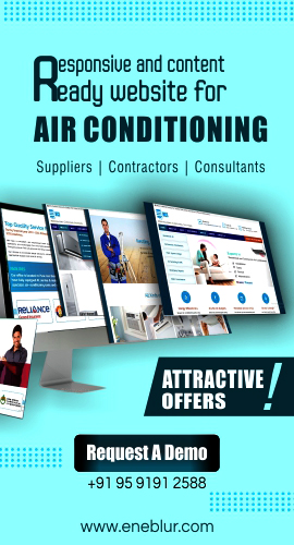Air conditioning website design agency in hubli